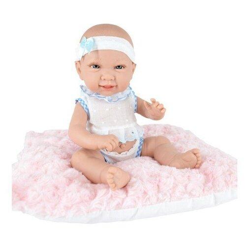 Пупс Munecas Manolo Dolls Valeria, 33 см, 9038 кукла младенец manolo dolls мягконабивной canguros 30см 4500