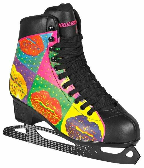 Женские фигурные коньки PowerSlide Ice 902198/902202 Pop Art