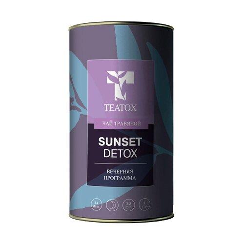 Чай травяной Teatox Sunset detox, 70 г чай листовой floris detox