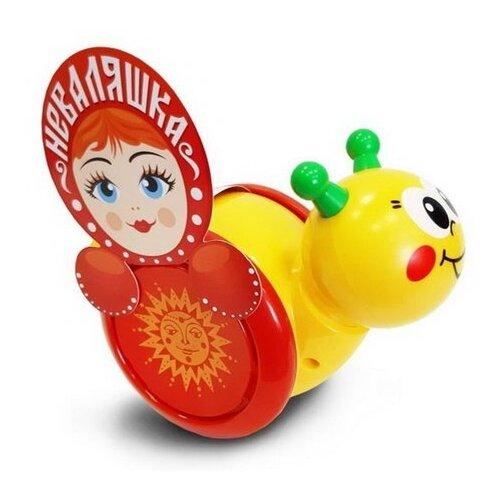 Купить Каталка-игрушка Биплант Улитка №1 (15018) красный/желтый, Каталки и качалки