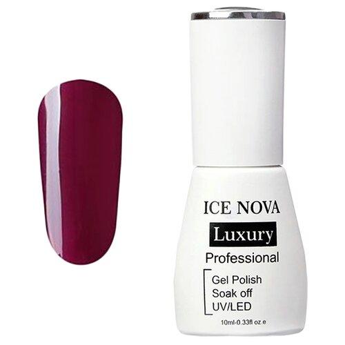 Купить Гель-лак для ногтей ICE NOVA Luxury Professional, 10 мл, 033 sangria