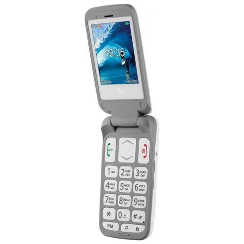 Телефон Fly F+ Ezzy Trendy1 белый  - купить со скидкой
