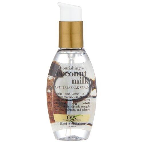 OGX Сыворотка против ломкости волос с кокосовым молоком, 118 мл