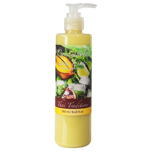 Гель для душа Thai Traditions Carambola and lime, 250 мл
