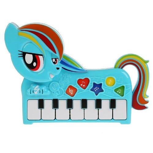 Купить Умка пианино My Little Pony HT787-R голубой, Детские музыкальные инструменты