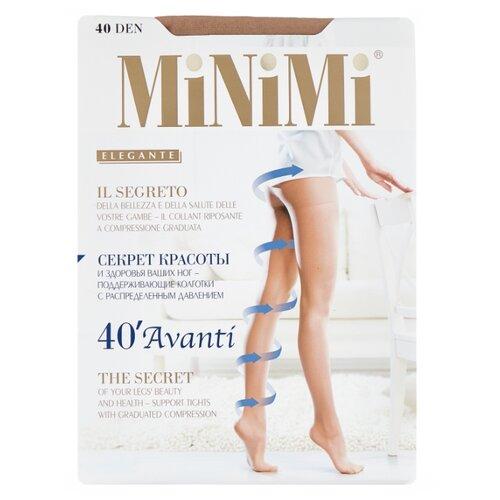 Колготки MiNiMi Avanti 40 den, размер 5-XL, caramello (бежевый) колготки minimi avanti 40 den размер 5 xl caramello бежевый