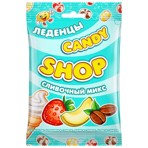 Карамель леденцовая молочная Candy Shop Сливочный микс 80 г сладкая сказка candy lane карамель леденцовая капучино 200 г