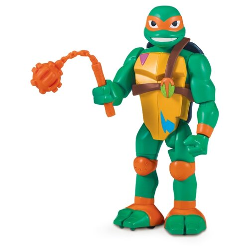 цена на Фигурка Playmates TOYS ise of the Teenage Mutant Ninja Turtles: Микеланджело - Ниндзя-атака с разворота 81411