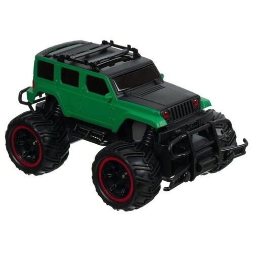 Купить Внедорожник Play Smart Безумные гонки (М80322) 1:20 зеленый/черный, Радиоуправляемые игрушки