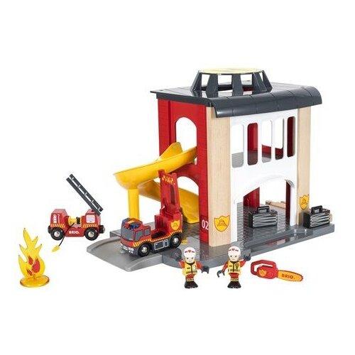 Фото - Игровой набор Brio Пожарное отделение 33833 набор игровой brio супер делюкс город 106 деталей