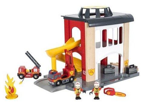 Игровой набор Brio Пожарное отделение 33833