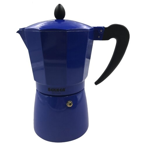 Гейзерная кофеварка Bekker BK-9359/BK-9360 (0.45 л), синий