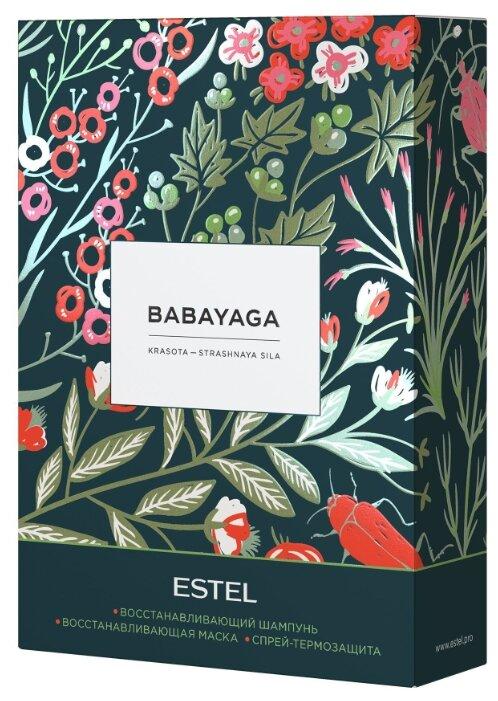 Estel Babayaga Набор (шампунь 250 мл, маска 200 мл, термозащитный спрей 200 мл)