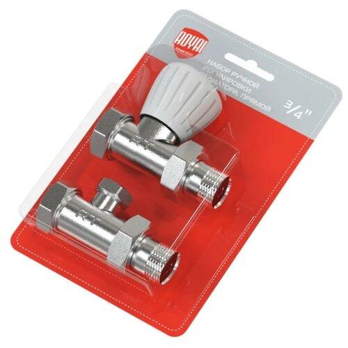 Вентиль, узел подключения для радиатора Royal Thermo НС-1161357 вентиль royal thermo термостатический осевой для радиатора 1 2 rte 50015