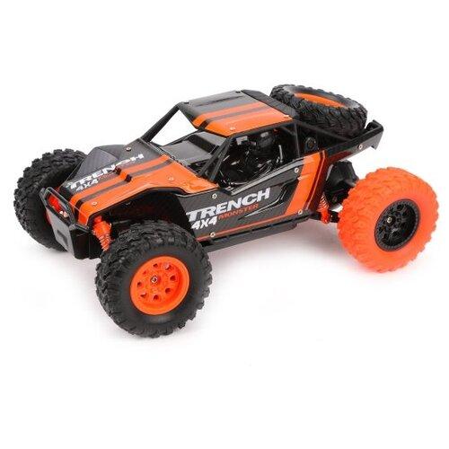 Купить Багги Наша игрушка M9501-2 1:24 22 см оранжевый/черный, Радиоуправляемые игрушки