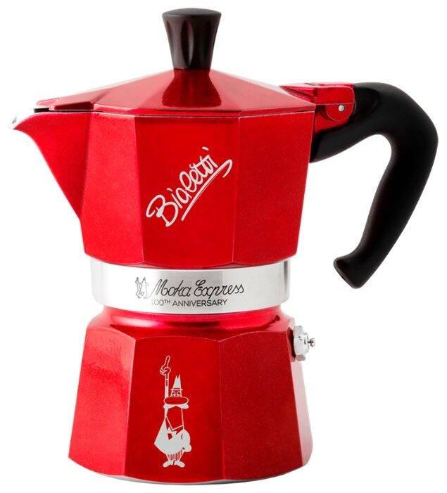 Гейзерная кофеварка Bialetti Moka Express (3 чашки)