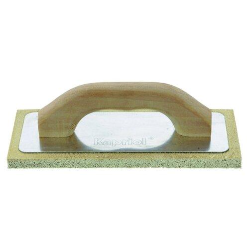 Тёрка для шлифовки штукатурки с губкой Kapriol 23060 240x100 мм тёрка для шлифовки штукатурки с губкой archimedes norma 90787 120x28 мм