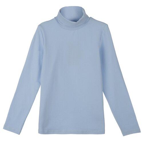 Купить Водолазка playToday размер 158, голубой, Свитеры и кардиганы