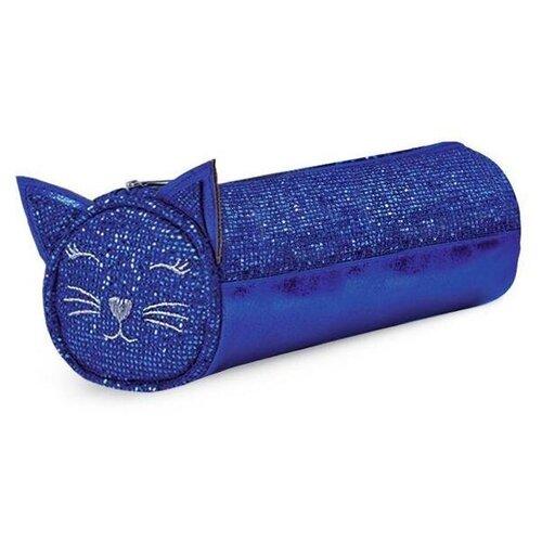 Феникс+ Пенал-косметичка Кот (48840/42) синий феникс пенал косметичка бабочки 46253 фиолетовый