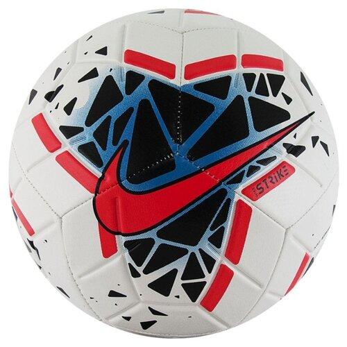 Футбольный мяч NIKE Strike SC3639 белый/черный/красный 5 мяч футбольный nike strike sc3310 610 р 5