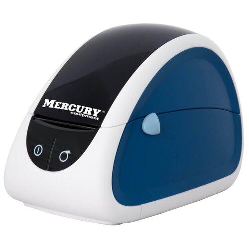 Термальный принтер этикеток Mertech LP58 EVA RS232-USB белый/синий