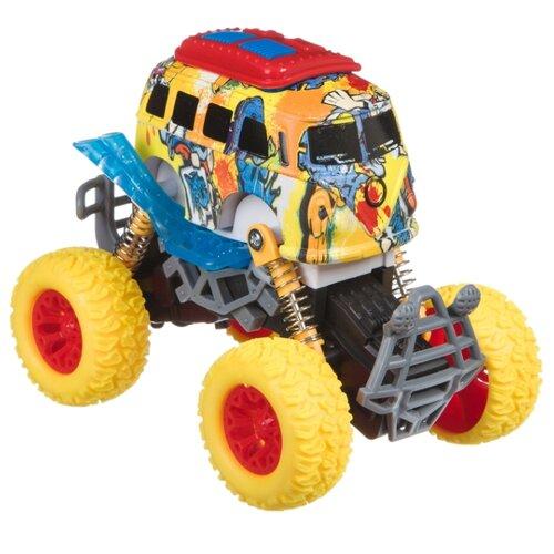 Купить Монстр-трак BONDIBON Парк техники (ВВ4501) желтый, Машинки и техника