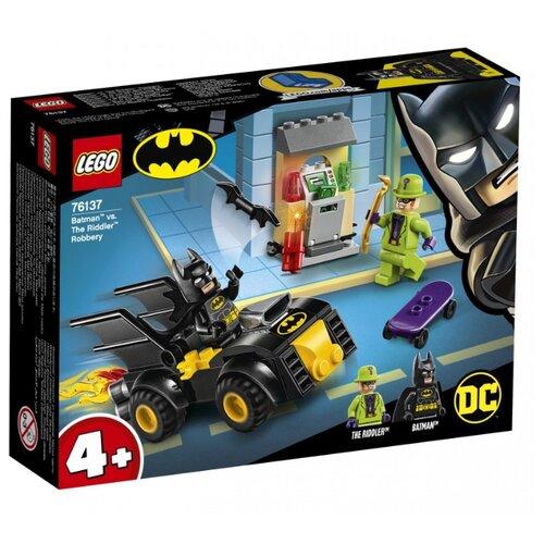 Купить Конструктор LEGO DC Super Heroes 76137 Бэтмен и ограбление Загадочника, Конструкторы