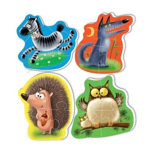 Набор пазлов Vladi Toys Baby puzzle Животные (VT1106-65), Пазлы  - купить со скидкой