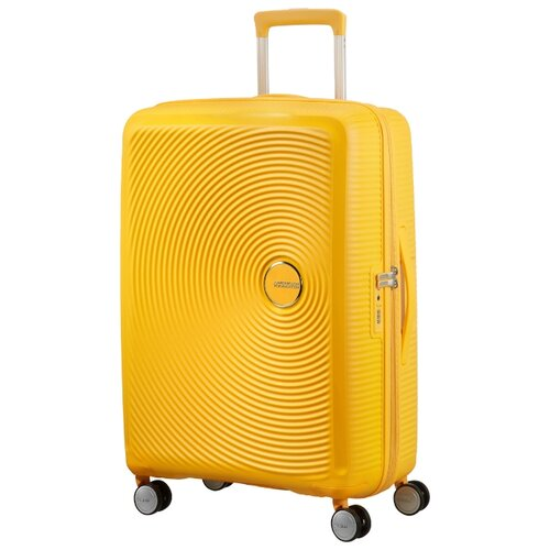 Фото - Чемодан American Tourister Soundbox M 81 л, golden yellow 13153