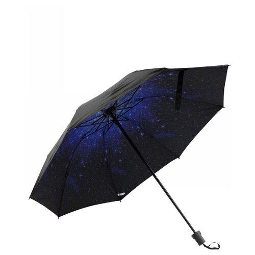 Зонт механика Удачная покупка YS06 черный/синий зонт механика удачная покупка ys01 черный желтый