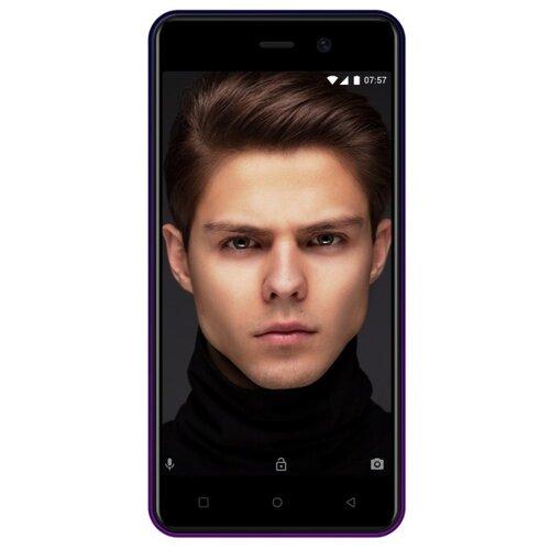 Смартфон INOI 2 Lite (2019) 8GB фиолетовый / синий inoi 3 lite black смартфон