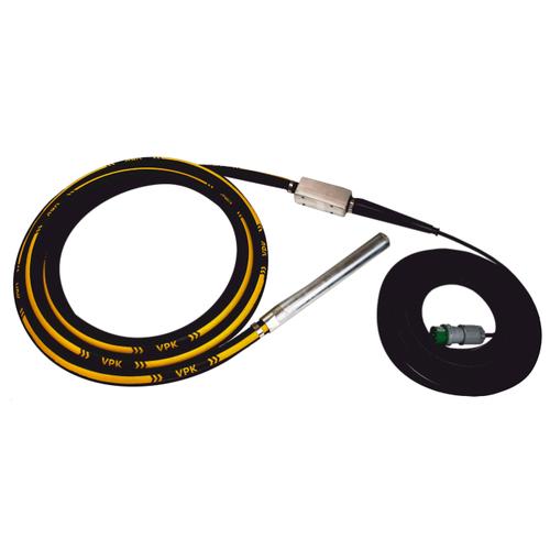 Электрический глубинный вибратор высокочастотный ВПК Механизация 36T вибратор красный маяк эпк 1300 51 электрический