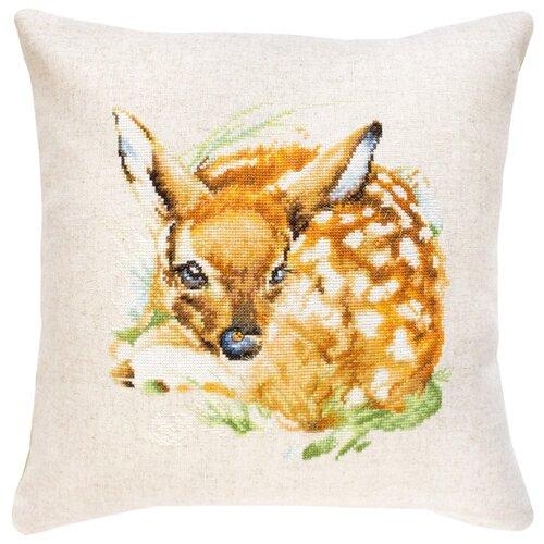Luca-S Набор для вышивания подушки 40 х 40 см (PB180) набор для вышивания подушки полным крестом orchidea 9350 разноцветный 40 х 40 см