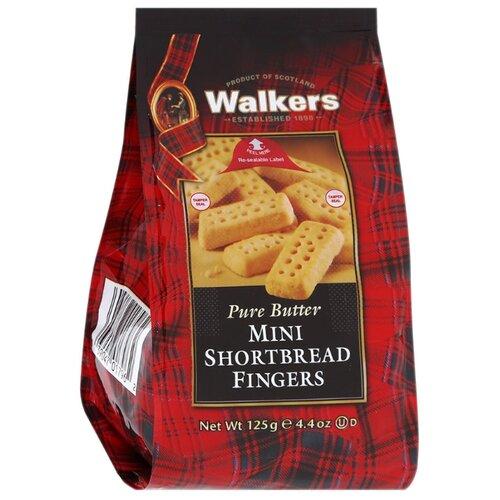 Печенье Walkers Mini Shortbread Fingers 125 г печенье песочное треугольнички walkers 170 г