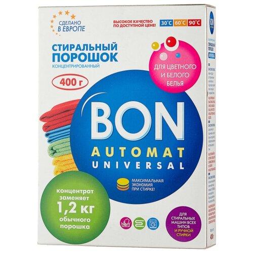 Стиральный порошок BON Universal (автомат) картонная пачка 0.4 кг