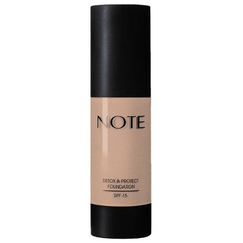 Купить Note Тональный крем Detox & Protect Foundation, 35 мл, оттенок: 100 cashmere beige