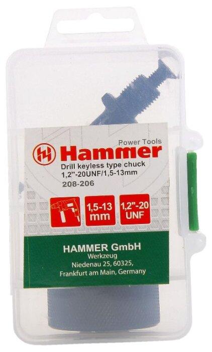 Переходник с патроном Hammerflex 208-206