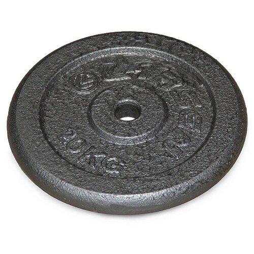 Диск Larsen NT118 31 мм 20 кг черный