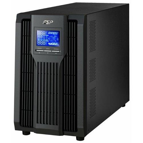 ИБП с двойным преобразованием FSP Group Knight Pro+ TW 1K IEC черный