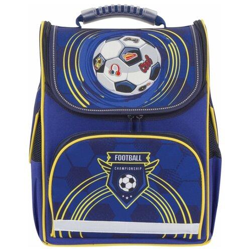 цена на BRAUBERG ранец Style Football (228796), синий