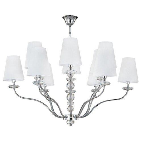 Люстра Crystal Lux ARMANDO SP6+6 CHROME, E14, 720 Вт светильник crystal lux desi sp6 chrome white desi