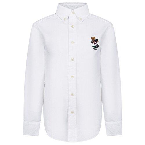 Купить Рубашка Ralph Lauren размер 122, белый, Рубашки