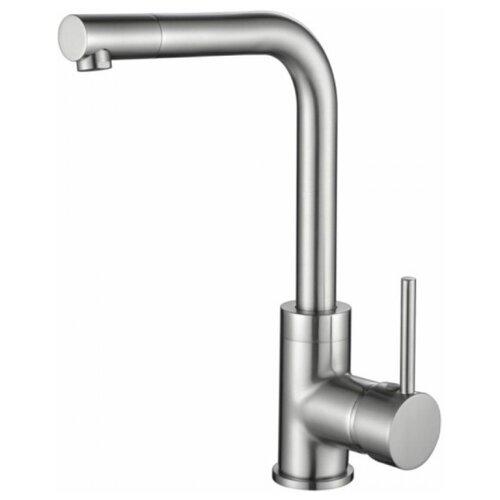 Фото - Смеситель для кухни (мойки) KAISER Teka 13144-5 Silver однорычажный серебро смеситель для кухни мойки kaiser sonat 34044 5 однорычажный
