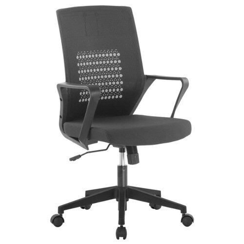 Компьютерное кресло TetChair Galant офисное, обивка: текстиль, цвет: черный/черный