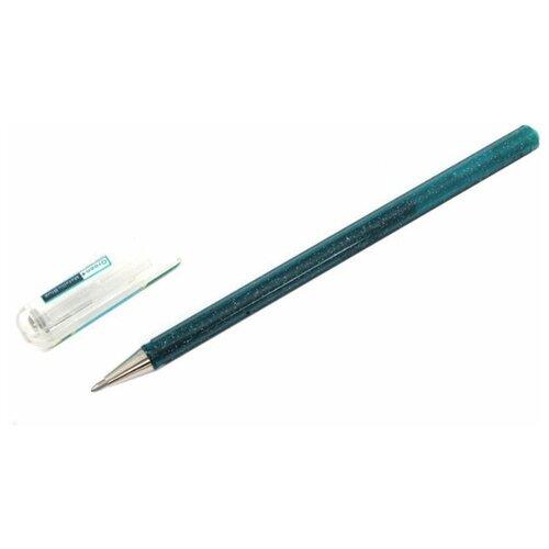 Pentel гелевая ручка Hybrid Dual Metallic, 1.0 мм, синий цвет чернил