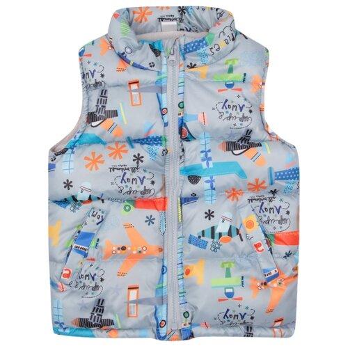 Купить Жилет Fun time размер 86, мультиколор, Куртки и пуховики