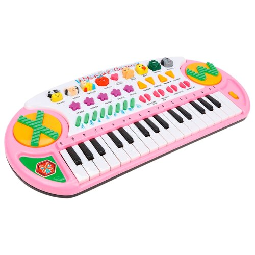 цена Tong Le Fu пианино TLF-3209A розовый/оранжевый/зеленый онлайн в 2017 году