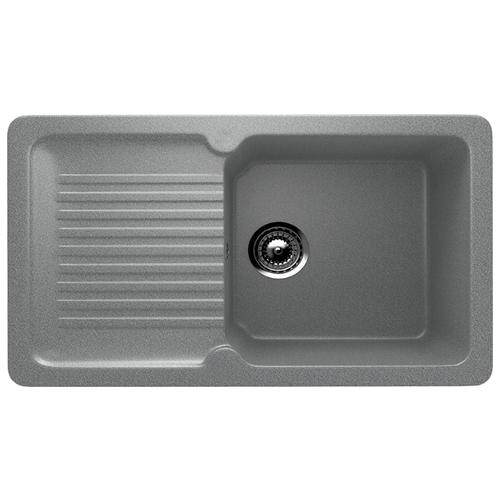 Врезная кухонная мойка 77 см Ulgran U-506 309 темно-серый врезная кухонная мойка 56 см ulgran u 104 309 темно серый