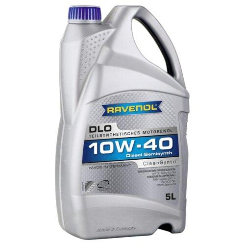 Моторное масло Ravenol DLO SAE 10W-40 5 л моторное масло ravenol euro iv truck sae 10w 40 5 л