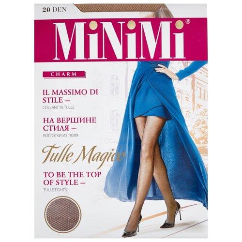 Колготки MiNiMi Tulle Magico 20 den, размер 4-L, caramello (бежевый) колготки minimi tulle magico 20 den размер 3 m daino бежевый